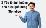 Điểm danh những yếu tố ảnh hưởng đến hiệu quả Stonebye