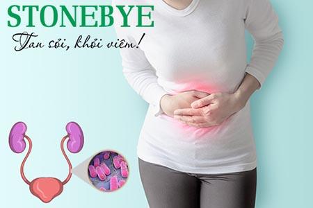 Đau bụng dưới là triệu chứng viêm đường tiết niệu ở nữ thường gặp